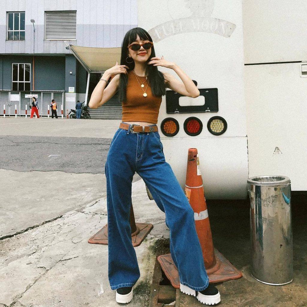 ประเภททรงกางเกงยีนส์-กางเกงยีนส์ขากระบอกใส่ยังไงก็เท่