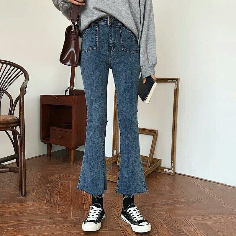 ประเภททรงกางเกงยีนส์ -กางเกงยีนส์ขาทรงเล็ก