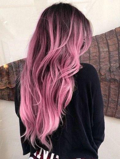 5 แฟชั่นสีผมสุดเท่ห์แห่งปี 2020 Pink-Ombre