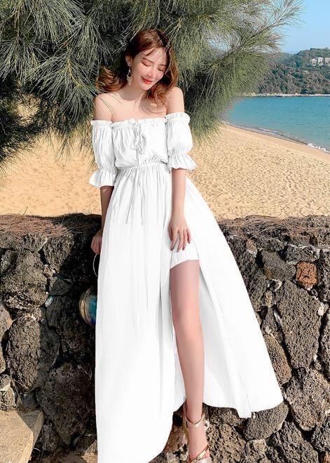 เดรสสีขาว (White dresses) ไปไหนก็รอด