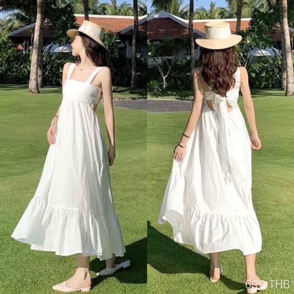 เดรสสีขาว รวมสวยๆ