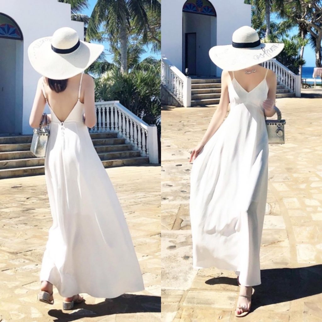 เดรสสีขาว (White dresses) เพียงชุดธรรมดา สวยๆ