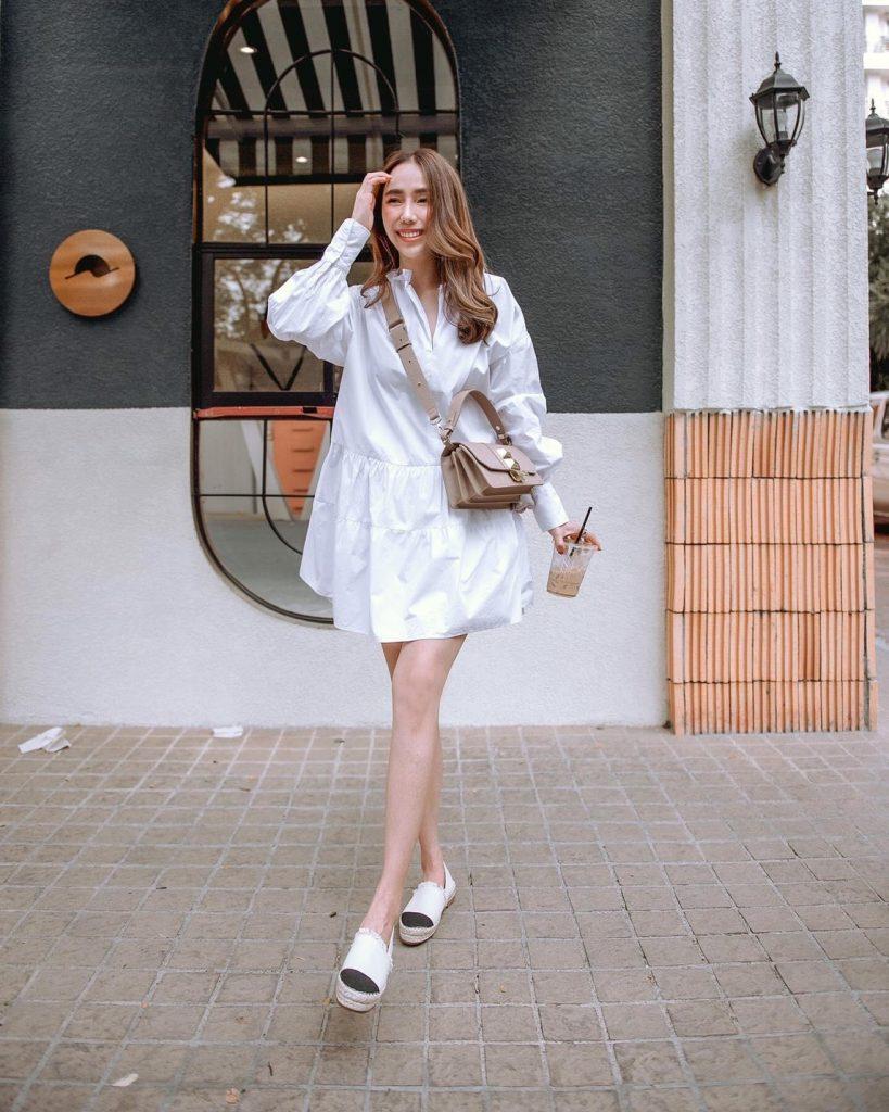 เดรสสีขาว (White dresses) ใส่เที่ยวชิวๆ