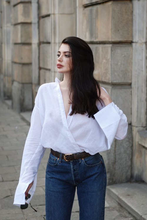 เสื้อเชิ้ตสีขาว (White Shirt ) ไอเทมที่ใส่ได้ทุกโอกาส