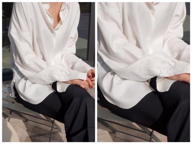 เสื้อเชิ้ตโอเวอร์ไซส์ (Oversize Shirt)