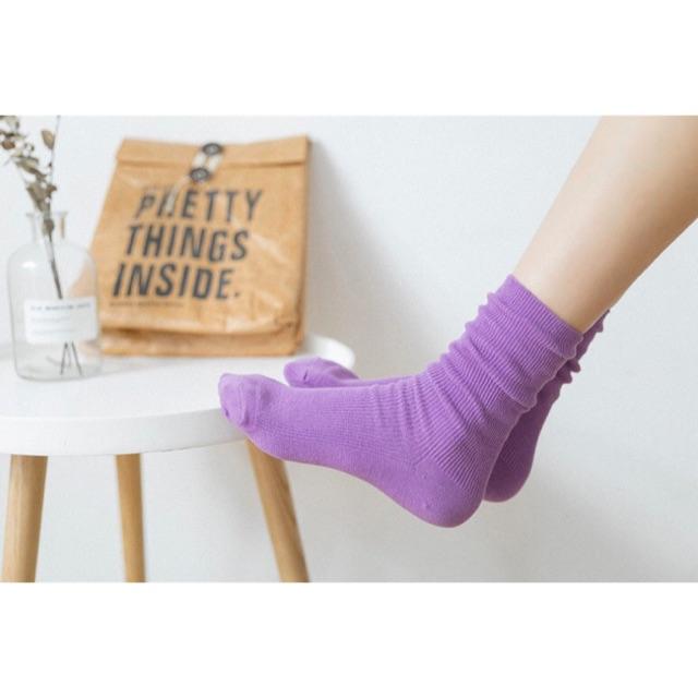 แฟชั่นสีม่วง ถึงเท้าสวย