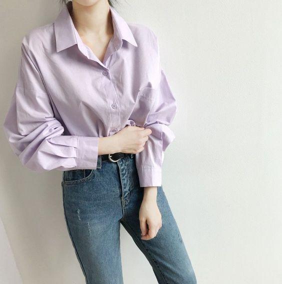 แฟชั่นสีม่วง (Purple Girl)  แต่งม่วงยังไง?