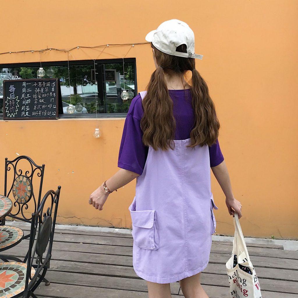 แฟชั่นสีม่วง (Purple Girl)  แต่งม่วงยังไง? ให้สวยแบบคิวท์ๆ แบบเอี๊ยมน่ารัก