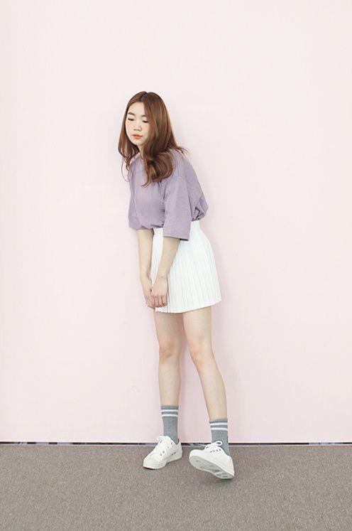 แฟชั่นสีม่วง (Purple Girl) มินิมอลสุด