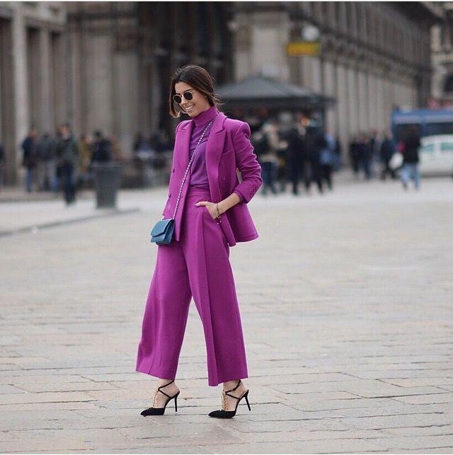 แฟชั่นสีม่วง (Purple Girl) ม่วงเต็มตัวสวยๆ