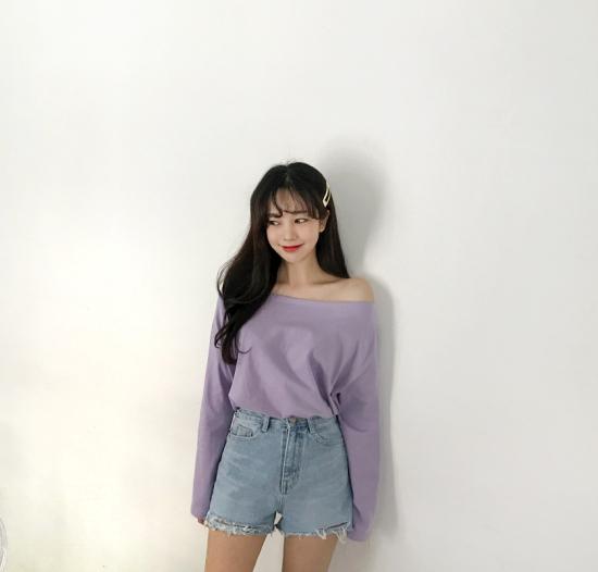 แฟชั่นสีม่วง (Purple Girl)  แต่งม่วงยังไง? ก็สวย