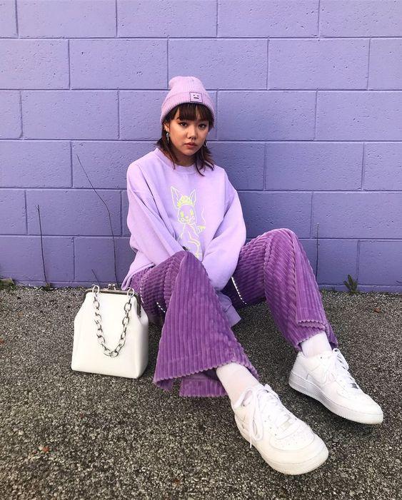 แฟชั่นสีม่วง (Purple Girl)อย่างแท้จริง