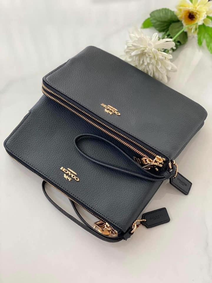 กระเป๋า Coachสีดำสวยพกพาง่าย