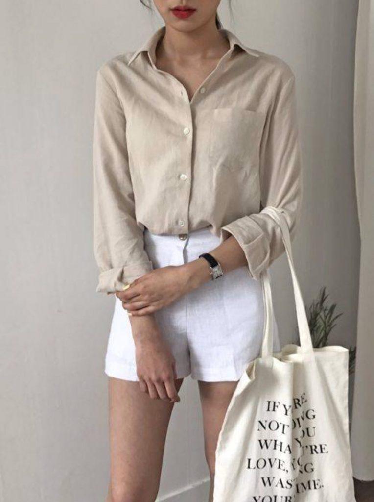 กางเกงผ้าขาสั้น Mix กับอะไรก็ง่าย เทรนด์ใส่สบาย ใส่กับเสื้ออะไรก็สวย