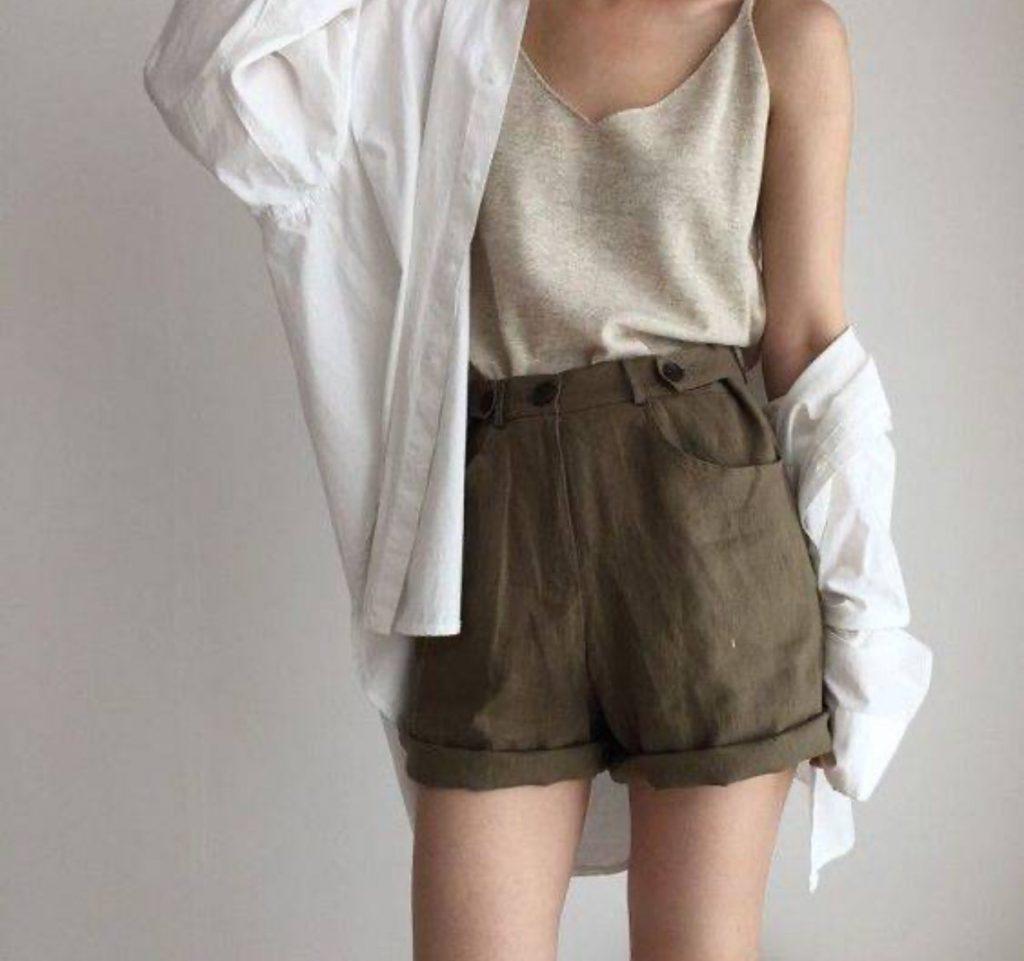 กางเกงผ้าขาสั้น Mix กับอะไรก็ง่าย เทรนด์ใส่สบาย วันสบาย