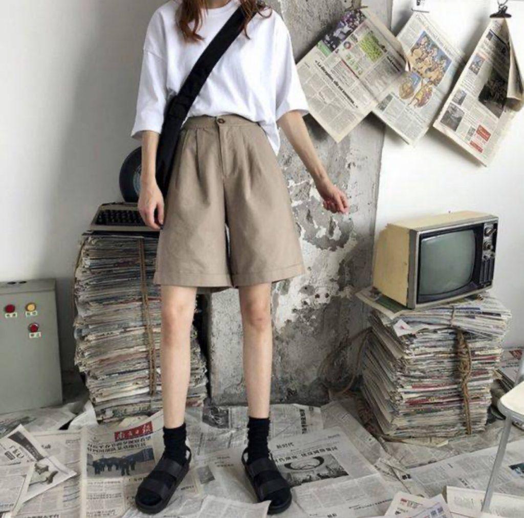 กางเกงผ้าขาสั้น  Mix กับอะไรก็ง่าย เทรนด์ใส่สบาย เท่กว่าใคร