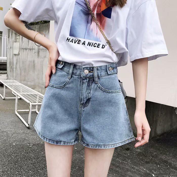 กางเกงยีนส์ขาสั้น 2020 แบบ บาร์บี้