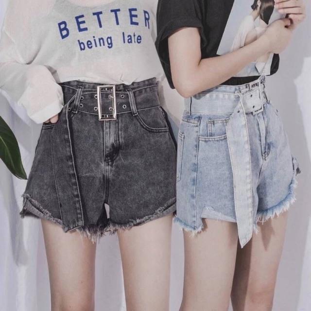 กางเกงยีนส์ขาสั้น 2020 แบบใหม่ ใส่สวย