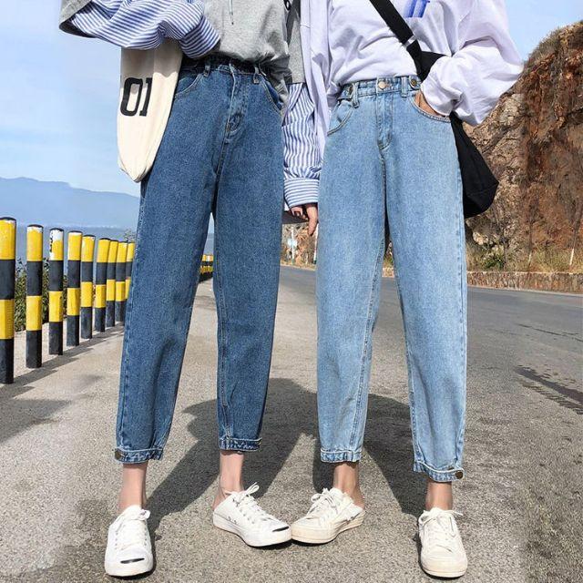 กางเกงยีนส์ทรงบอย  สวย 2020