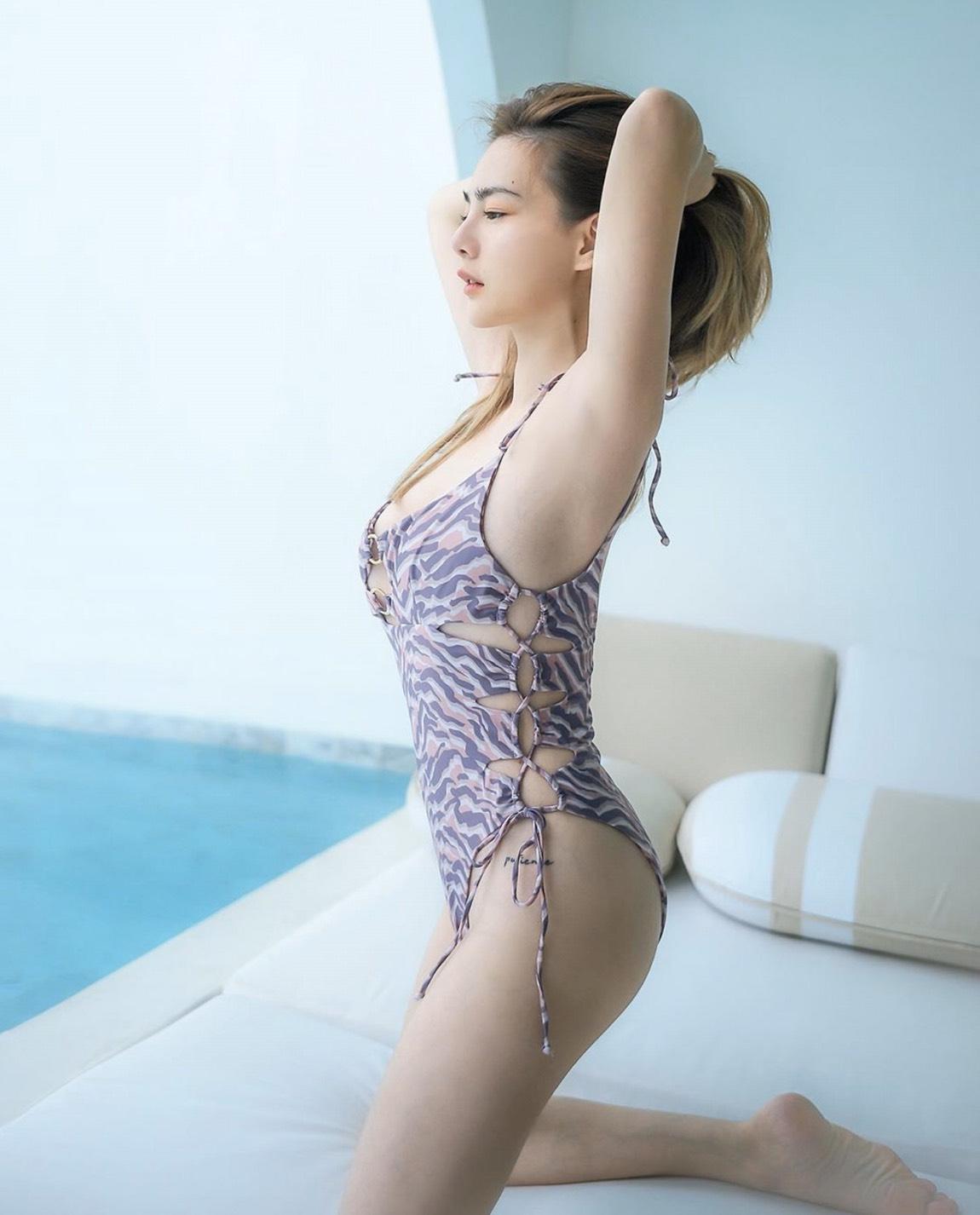 ส่องแฟชั่น ชุดว่ายน้ำ 2020 เซเลบดาราไทยสุดแซ่บ 2020