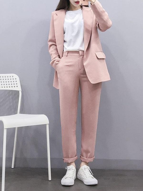 แฟชั่นชุดสูท 2020  สไตล์เก๋ ใส่แล้วสวยชิคกว่าใคร