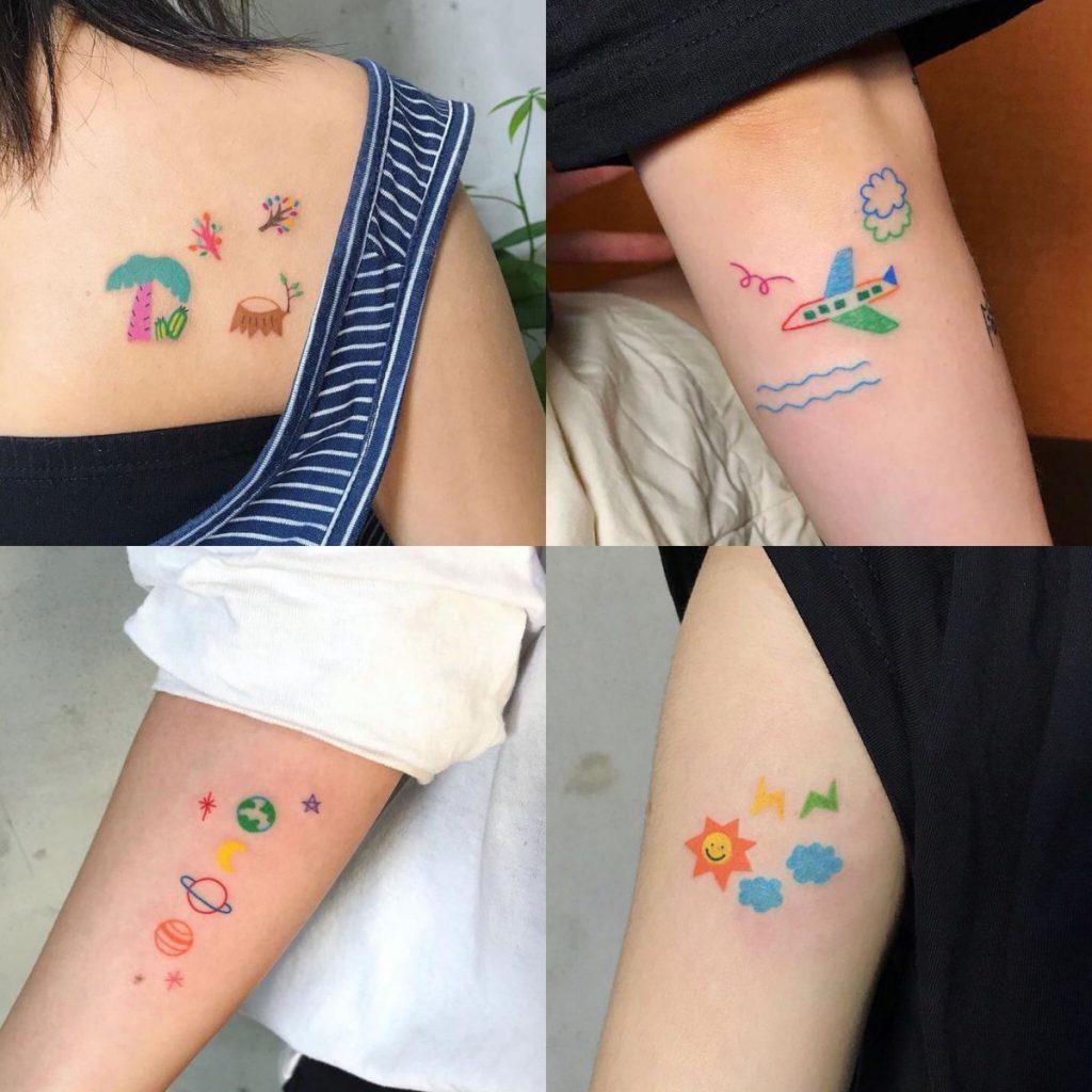 รอยสักเล็กๆ (Minimal tattoo) แฟชั่นรอยสักน่ารักๆ สไตล์สาวสุดชิค แบบไหนดี