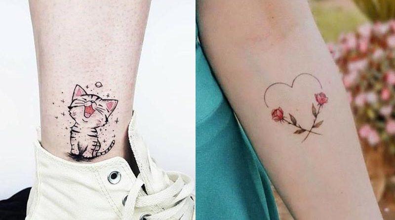 รอยสักเล็กๆ (Minimal tattoo) แฟชั่น 2020