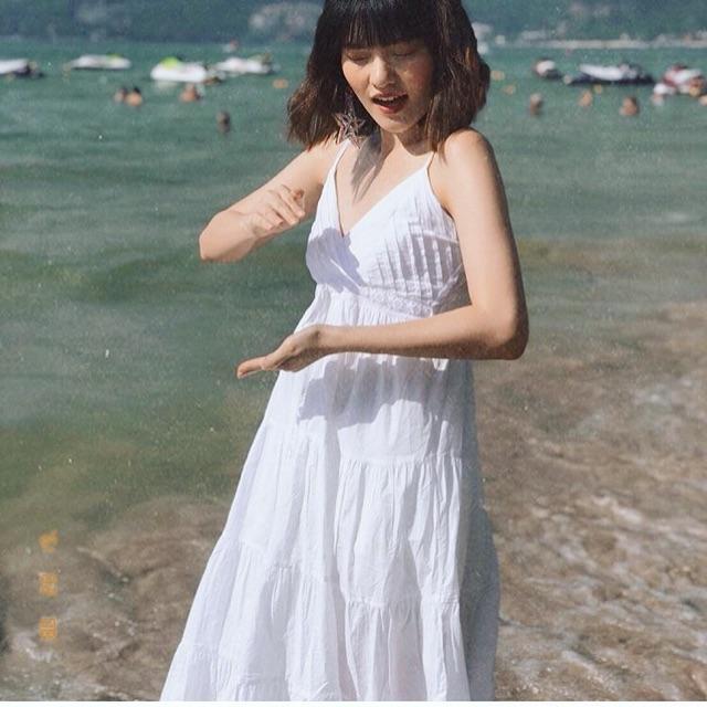 แต่งตัวไปทะเล สีขาวสวยทุกที่
