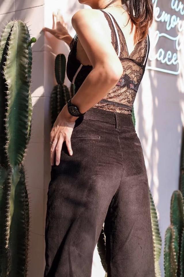 แฟชั่นกางเกงลูกฟูก แบบเซ็กซี่ก็ได้