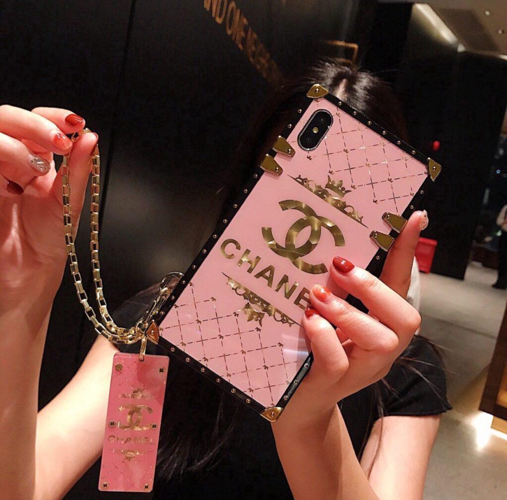 เคสโทรศัพท์ 2020 สีชมพูไฮโซ