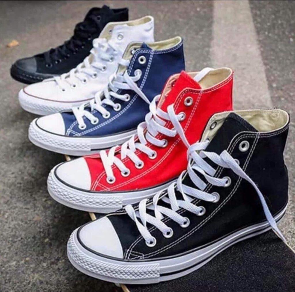 รองเท้าคอนเวิร์ส (Converse All Star) หุ้มข้อเท่ๆ