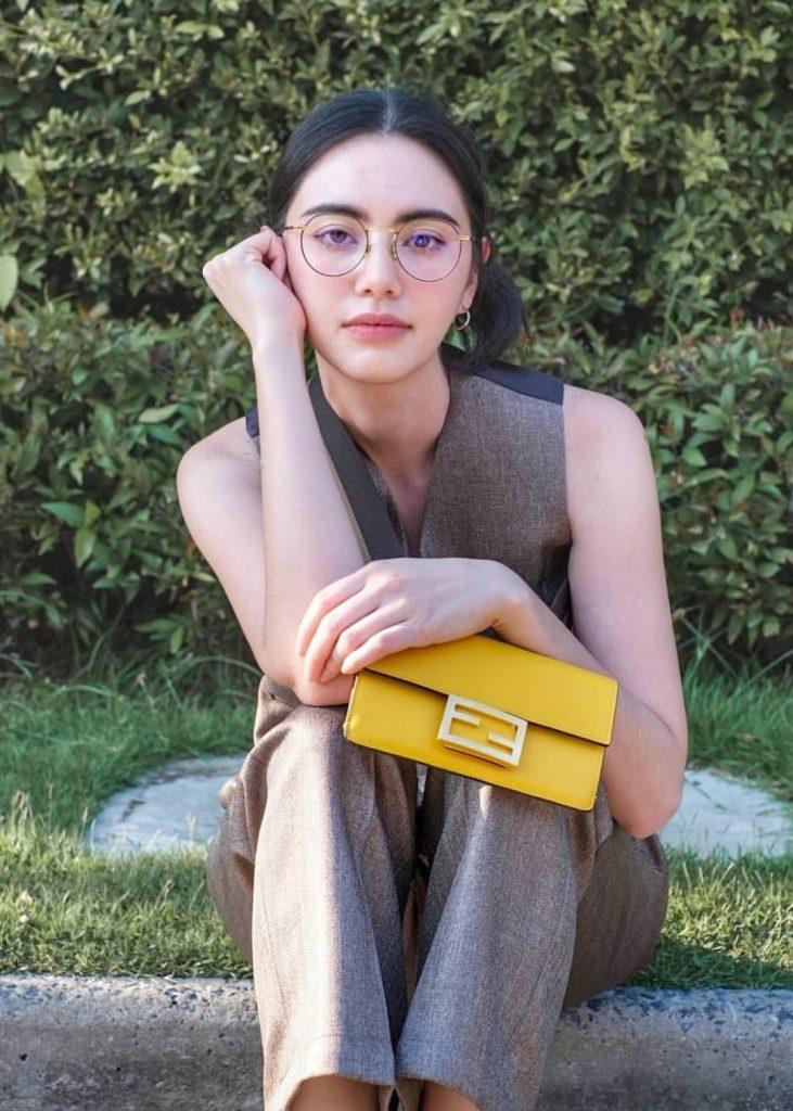 แฟชั่นสีเหลือง 2020 กระเป๋าใบเล็กสีเหลืองสดใส