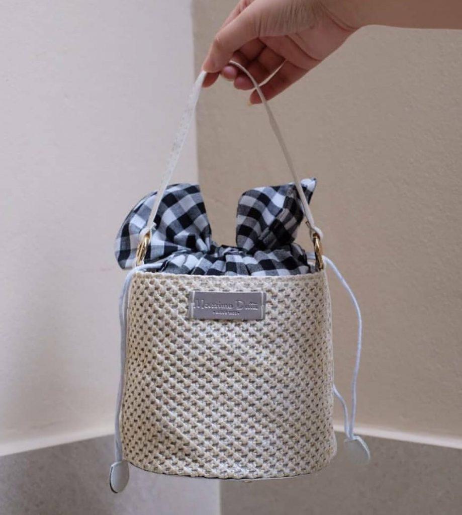 กระเป๋าทรงถัง สวยมินิมอล