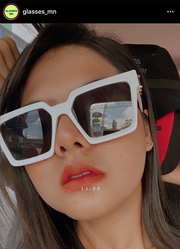 ร้านขาย แว่นตาแฟชั่น IG ร้านแรกที่แอดอยากแนะนำคือ glasses_mn มีแบบใหม่ๆมาขายตลอด