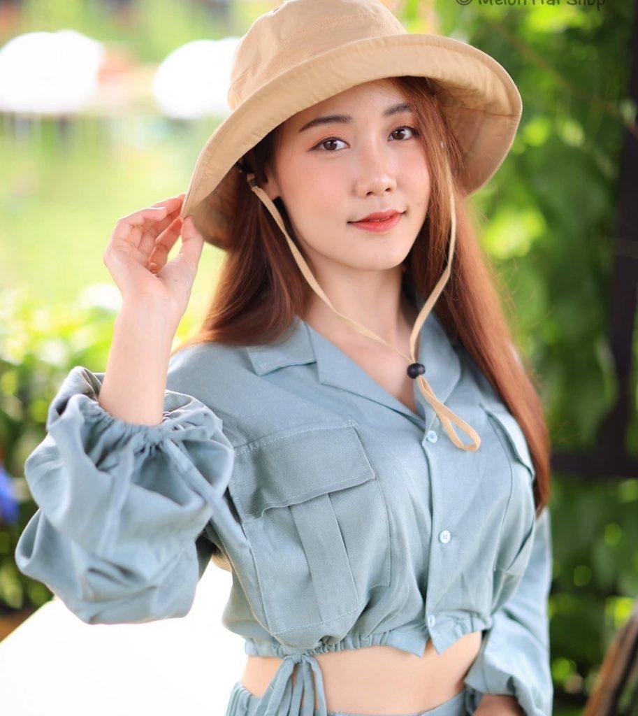 หมวกเดินป่า แน่วใสๆก็ใส่สวย