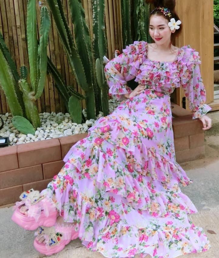 แฟชั่น เดรสยาวสวยๆ (Maxi dress) 2020 สวยเก๋สุด