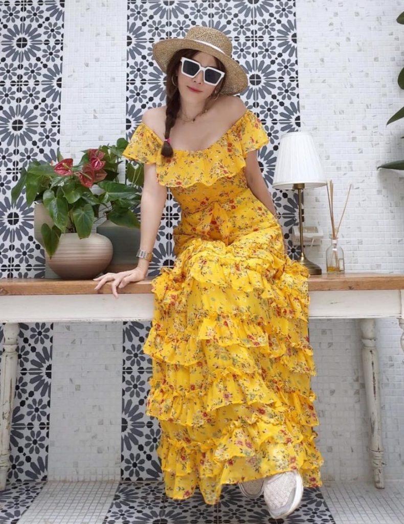 แฟชั่น เดรสยาวสวยๆ (Maxi dress) 2020