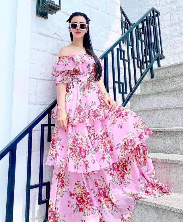 แฟชั่น เดรสยาวสวยๆ (Maxi dress)  ไปเที่ยวที่ไหนก็สวย
