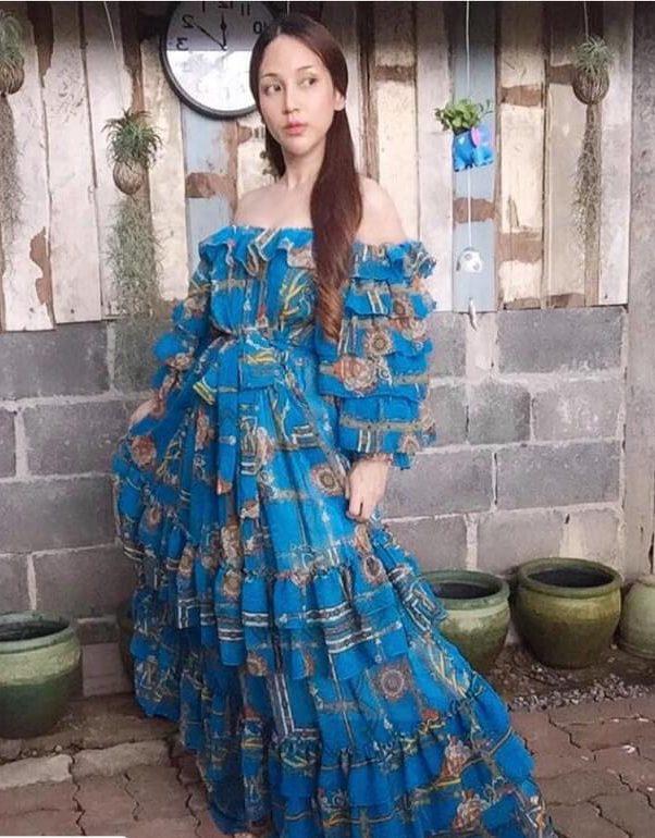แฟชั่น เดรสยาวสวยๆ (Maxi dress) นางฟ้าชัดๆ