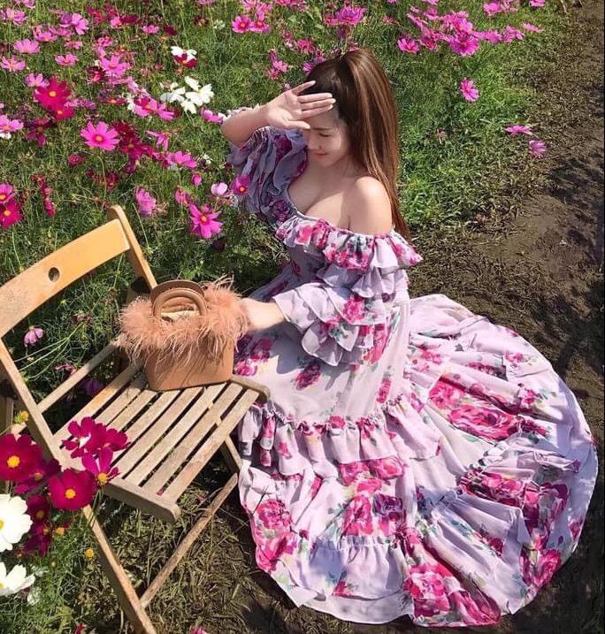 ความสวยของ เดรสยาวสวยๆ (Maxi dress)