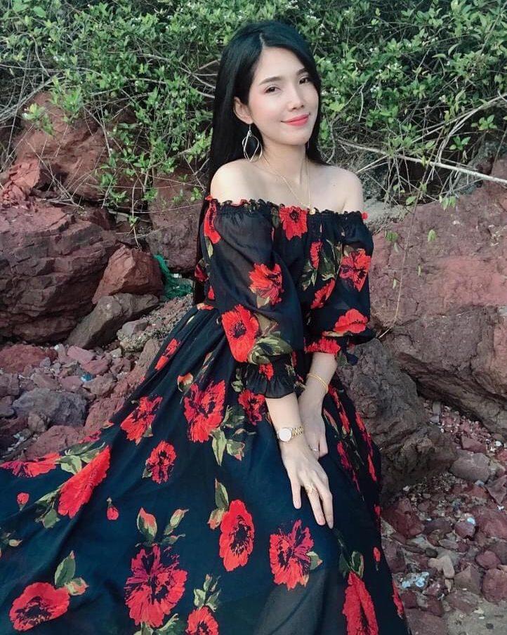 แฟชั่น เดรสยาวสวยๆ (Maxi dress)  ปังมากแม่