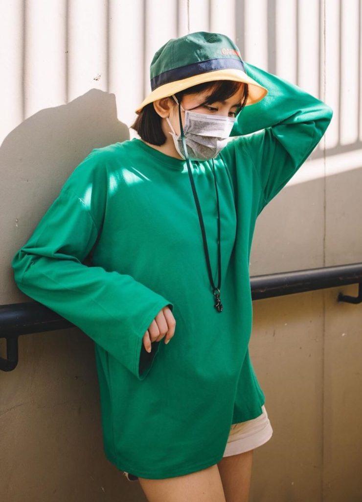 หนูนา หนึ่งธิดา กับเสื้อยืดสีเขียวที่ใส่แล้วน่ารักไปอีก