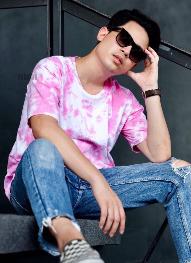 เสื้อมัดย้อม 2020 สีชมพูหนุ่มๆก็ใส่ได้