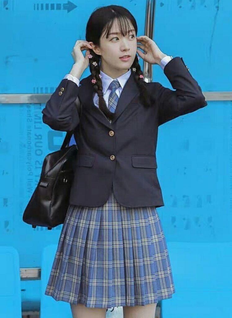 ชุดนักศึกษาญี่ปุ่น แบบเรียบๆแต่น่ารัก