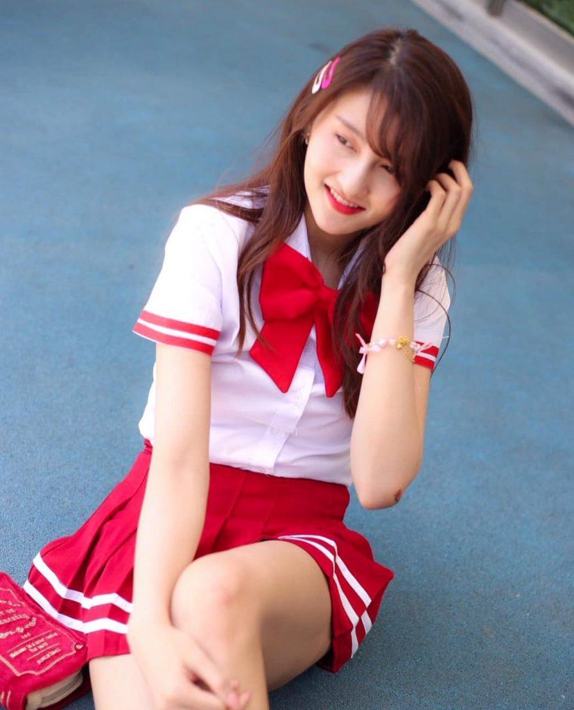 ชุดนักศึกษาญี่ปุ่น แบบสาวเท่น่ารักๆ