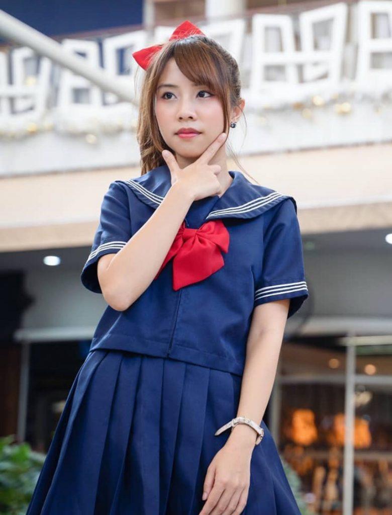 ชุดนักศึกษาญี่ปุ่น ใส่แล้วน่ารักไปอีก