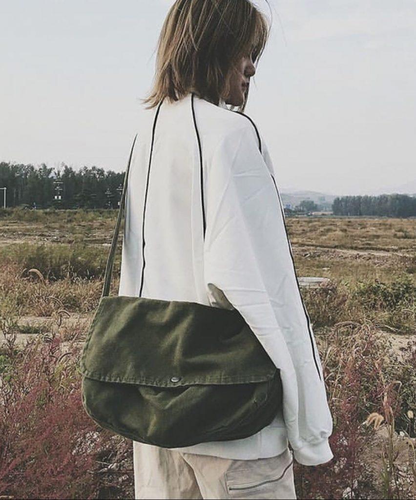 กระเป๋าวินเทจ แบบผ้าเท่ๆ