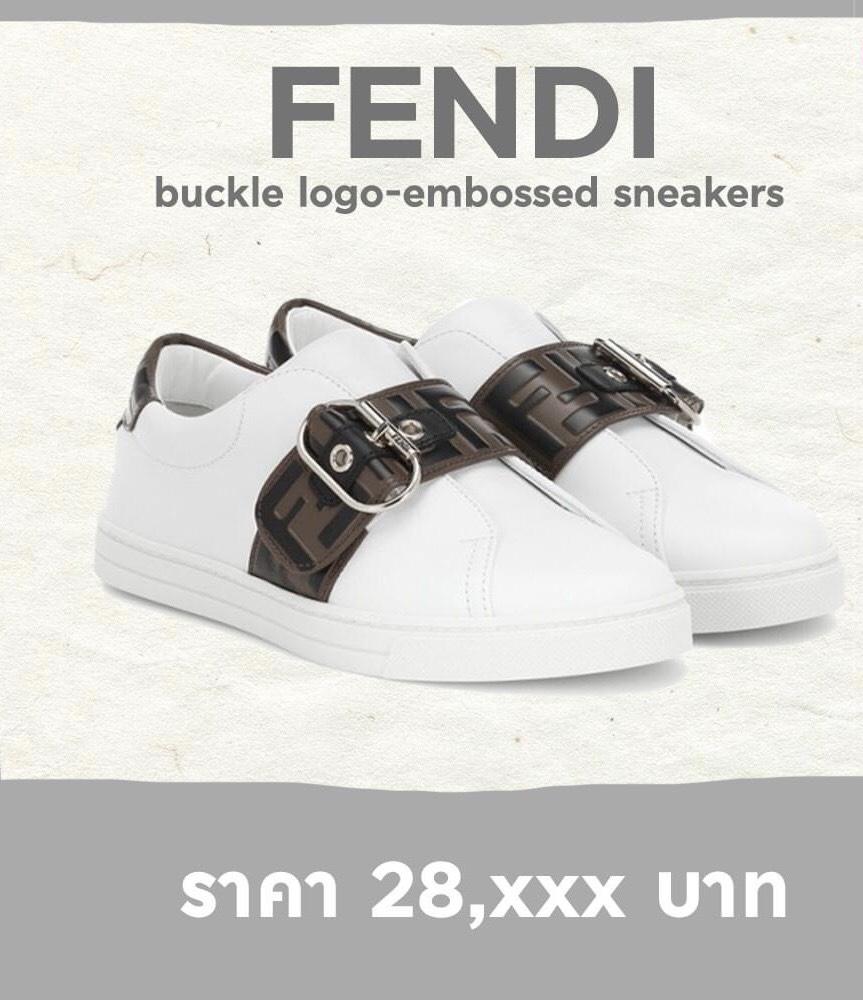 รองเท้าผ้าใบสีขาว แบรนด์เนม สวยอย่างนี้อดใจไหวเหรอ
