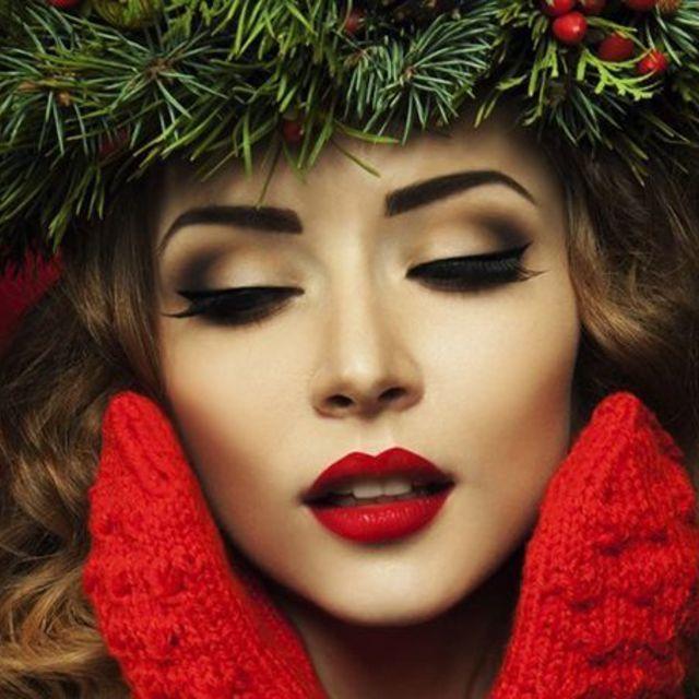 แต่งหน้าวันคริสต์มาส ใครเห็นต้องมอง