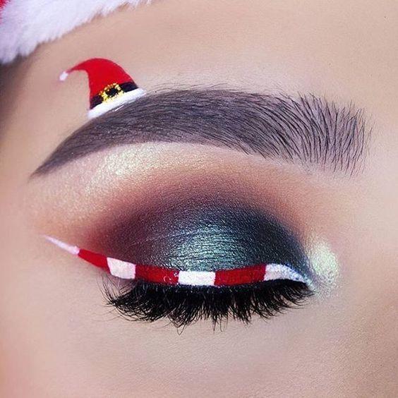 แต่งหน้าวันคริสต์มาสทาคิ้วตาทาตาก็สวยแล้ว